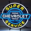 Neonetics Cars & Motorcycles GM Chevrolet Service Neon Sign