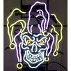 Neonetics Jester Skull Neon Sign