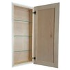 "WG Wood Products Cumberland 30"" Recessed Maximum Depth Frameless Cabinet"