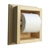 WG Wood Products On The Wall Wall Mounted Mega Toilet Paper Holder