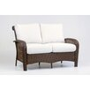 South Sea Rattan Martinique Loveseat with Cushion