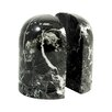 Bey-Berk Marble Dome Bookend (Set of 2)