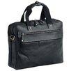 Mancini Toscani Leather Laptop Briefcase