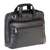 Mancini 5th Avenue Leather Laptop Briefcase