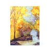 ArtWall ''French Creek'' by Dan McDonnell Painting Print on Canvas