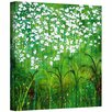 ArtWall 'Spring Garden' by Herb Dickinson Graphic Art on Wrapped Canvas