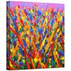 "ArtWall ""Growing Wild"" by Susi Franco Painting Print on Canvas"