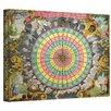 ArtWall Antique ''Pyxis Nautica Compass Charte'' Graphic Art on Canvas