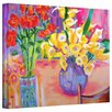 "ArtWall ""Summer Flowers"" by Susi Franco Canvas Painting Print"