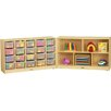 Jonti-Craft E-Z Glide Fold-n-Lock 25 Compartment Cubby