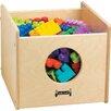 Jonti-Craft See-n-Wheel Shelf Cubby Bin