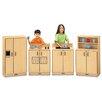 Jonti-Craft ThriftyKYDZ 4 Piece Birch Kitchen Set