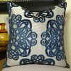 Plutus Brands Archetype Sapphire Throw Pillow