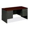 HON 38000 Series Double Pedestal Executive Desk