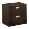 "HON 600 Series 30""W 2-Drawer File"
