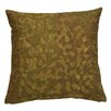 Global Views Mosaic Leaf Cotton Throw Pillow