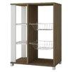 Manhattan Comfort Accentuations Useful Pasir Pantry Rack