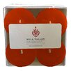 Mill Valley Candleworks Pumpkin Spice Scented Votive Candle (Set of 4)