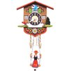 Black Forest Battery Operated Chalet Cuckoo Clock
