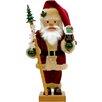 Alexander Taron Christian Ulbricht Snow Globe Santa Nutcracker