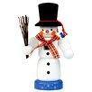 Alexander Taron Christian Ulbricht Snowman Mini Nutcracker