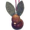 Alexander Taron Christian Ulbricht Bunny Ornament (Set of 2)