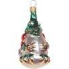 Alexander Taron Polish Hand Blown Glass Dragon Ornament (Set of 3)