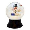 Alexander Taron Perzy Large Snowman with Shovel Snow Globe