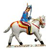 Alexander Taron Tin Solider and Horse Ornament (Set of 2)