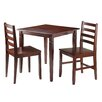 Winsome Kingsgate 3 Piece Dining Set