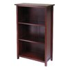 """Winsome Milan 43"""" Standard Bookcase"""