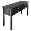 Winsome Oak Park Console Table