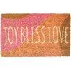 Entryways Sweet Home Joy Bliss Love Doormat