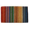 Entryways Handmade Rainbow Extra Thick Doormat