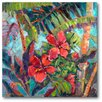 Courtside Market Splash of the Tropics II Gallery Wrapped Canvas