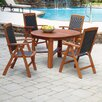 Home Styles Bali Hai 5 Piece Dining Set