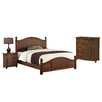 Home Styles Marco Island Panel 3 Piece Bedroom Set