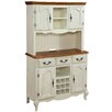 Home Styles French Countryside Buffet and Hutch