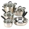 Zingz & Thingz Deluxe 10 Piece Cookware Set
