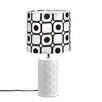 """Zingz & Thingz Mod Graphic 18.87"""" H Table Lamp with Drum Shade"""