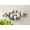 Zingz & Thingz Scrollwork Iron Sconce