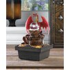 Zingz & Thingz Red Dragon Tabletop Plastic Water Fountain