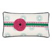 Hen Feathers Epic Preppy Wallace Sky Rosette Down Throw Pillow