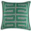 Vanderbloom Dijon Greek Key Linen/Cotton Throw Pillow