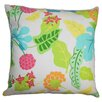 The Pillow Collection Gamila Floral Outdoor Throw Pillow