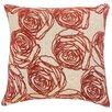 The Pillow Collection Halen Floral Throw Pillow