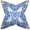 The Pillow Collection Rafe Damask Cotton Throw Pillow