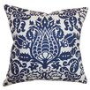 The Pillow Collection Dolbeau Floral Cotton Throw Pillow