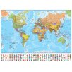 Waypoint Geographic World 1:30 Laminated Wall Map