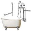 "Cambridge Plumbing 54"" L x 29"" W  Bathtub"